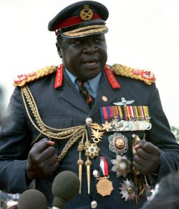 UGANDA BRITAIN  AMIN'S SON