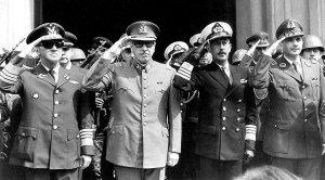 MEMBERS OF THE FOUR-MEN MILITARY JUNTA